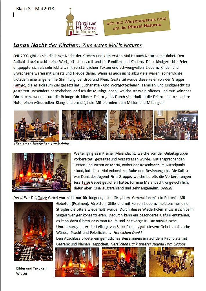 Blatt 3 Lange Nacht der Kirchen